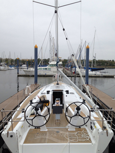 2015 Dehler 38 Backstay with 48-to-1 Ratio