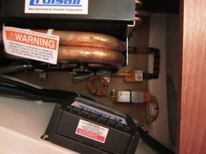 Dometic CruiseAir HVAC and Condensate Pump Install Detail on 2015 Dehler 38